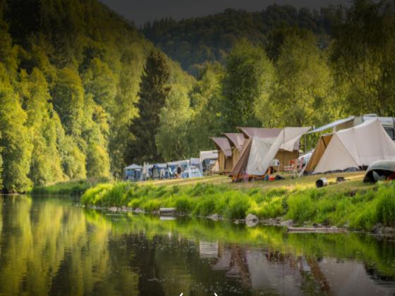Belgique camping  190 emplacements